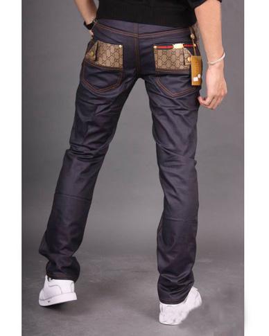 300041ad2461d Jean Gucci Homme Gris-16 - Jean Gucci Homme Gris-16 pas cher