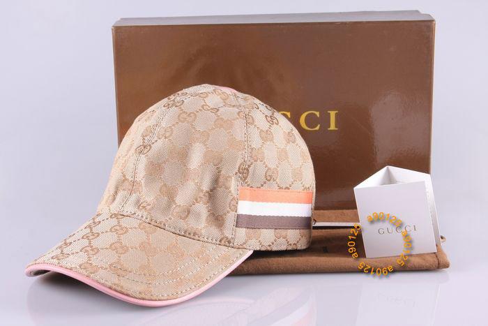Casquette Gucci Rose-26 - Casquette Gucci Rose-26 pas cher 7e0db8a43ff