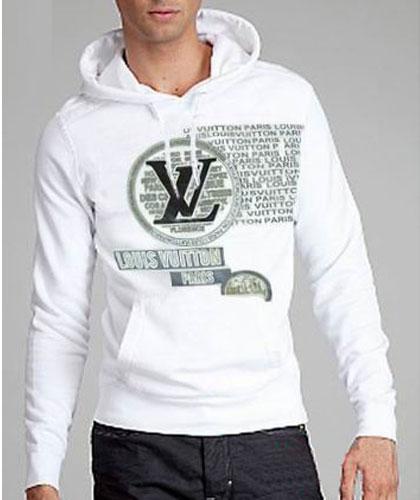 Sweat Louis Vuitton Capuche Blanc Homme-41 - Sweat Louis Vuitton ... a51087d8aab
