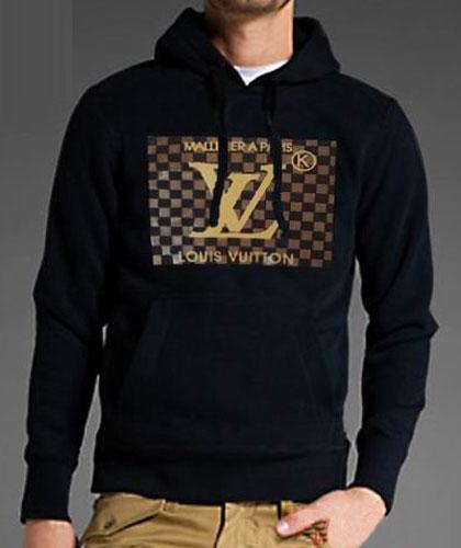 Sweat Louis Vuitton Capuche Noir Homme-42 - Sweat Louis Vuitton ... cd5e3f1846b