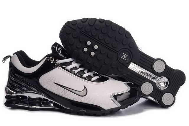 Homme Et Noir Chaussure R4 Nike 12 Shox Blanc rxhdCtsQ