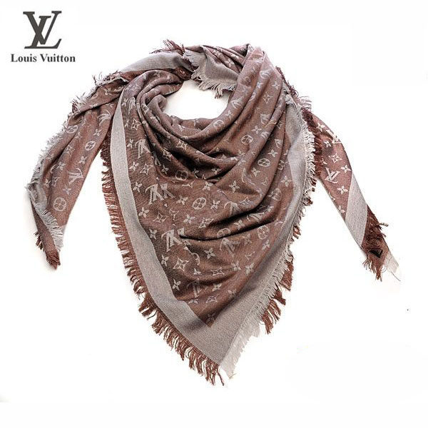 Foulard Louis Vuitton Marron-98 - Foulard Louis Vuitton Marron-98 ... 32ca37d871e