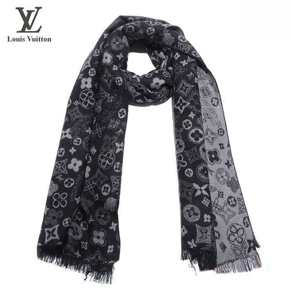 66fef5574a4f Foulard Louis Vuitton Gris Femme-103 - Foulard Louis Vuitton Gris ...