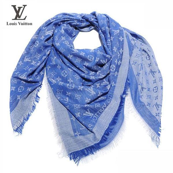 Cheche Louis Vuitton Soie Bleu-108 - Cheche Louis Vuitton Soie Bleu ... 46138aa41d2