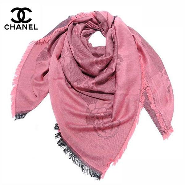 650158cf339d Foulard Chanel Rose-1 - Foulard Chanel Rose-1 pas cher