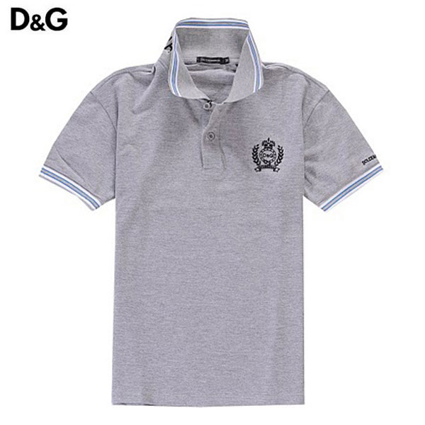 87a6fb86cba8 Achat T Shirt Homme D G Manches Courte Gris-268 - Achat T Shirt ...