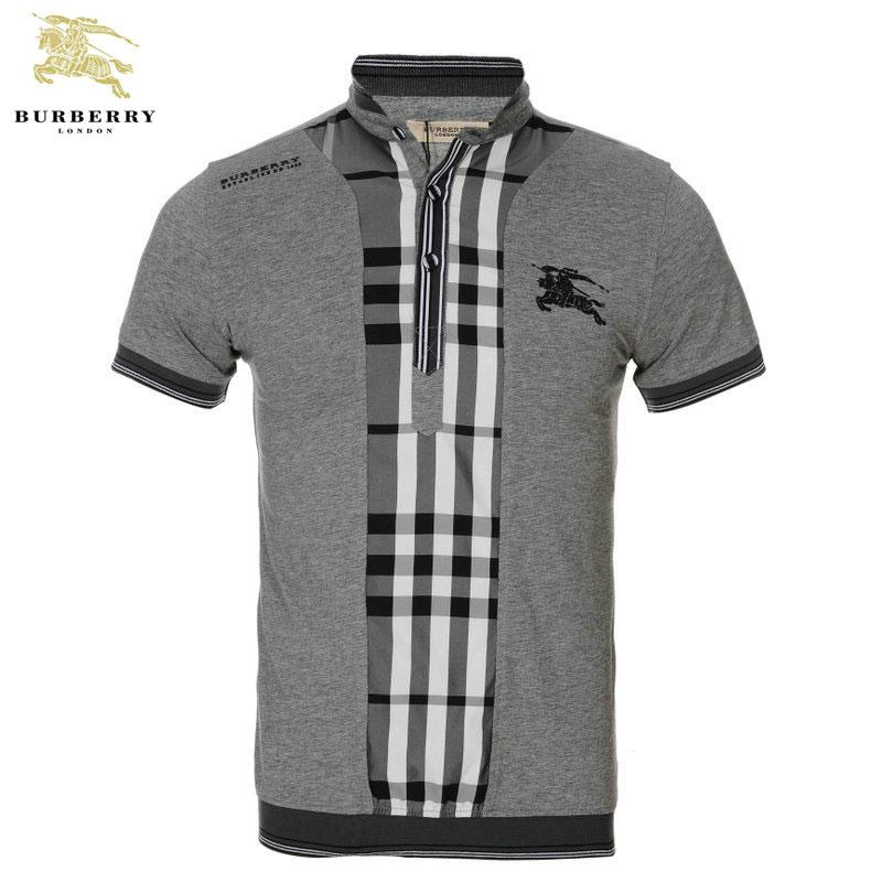 ... T Shirt Homme Burberry Carreau Manches Courte Gris-421 · See Larger  imageSee ... fab819c6f5d