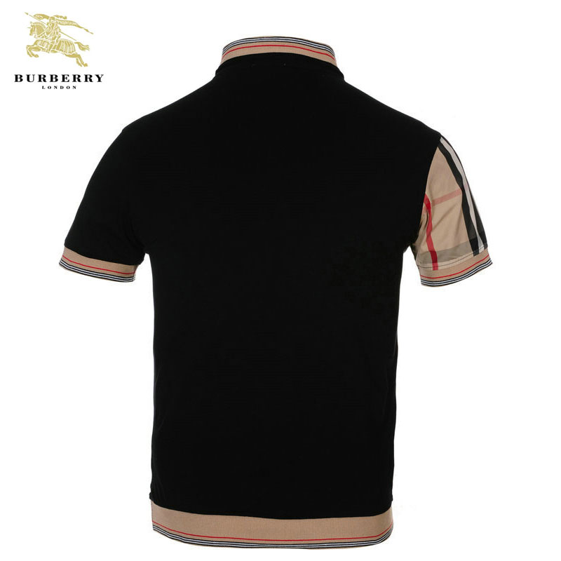 ... Homme T Shirt Burberry Carreau Noir et Beige-422 · See Larger imageSee  ... befe0c36cdc