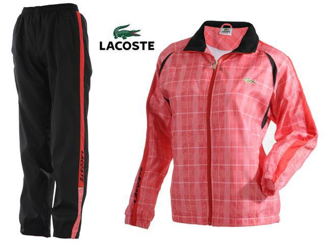 900f0ee644a42 Survetement Lacoste Femme Noir et Orange-2 - Survetement Lacoste ...