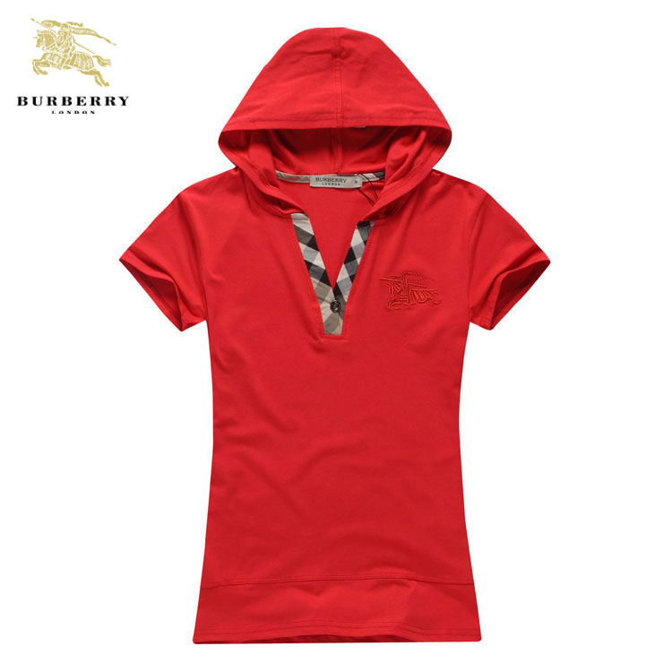 ... Burberry T Shirt Femme Rouge Capuche-190 · See Larger imageSee ... 66c8c813f30