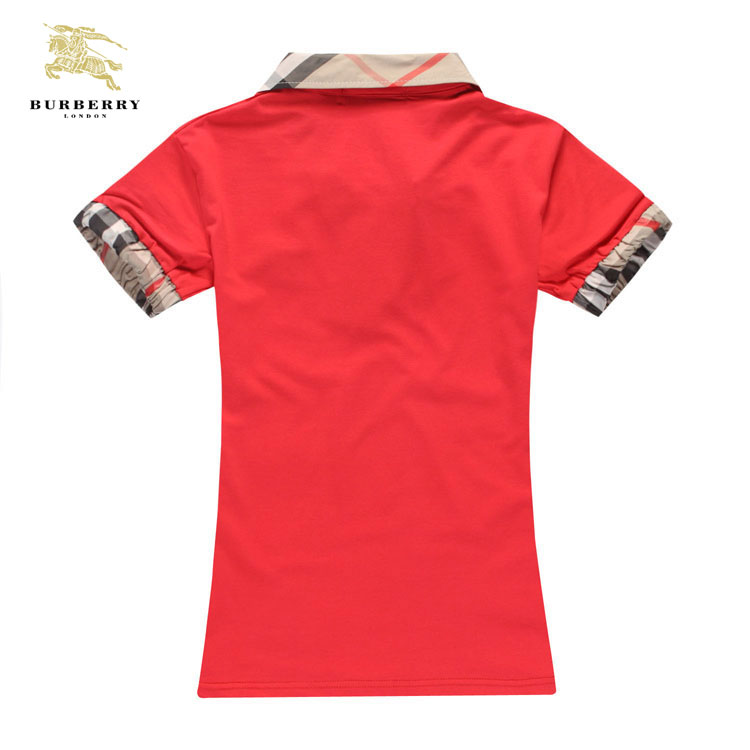 01594990867c ... T Shirt Burberry Femme Rouge Col Polo-212 · See Larger imageSee ...
