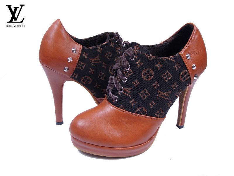 5fcbc7474e4e ... Prix Chaussure Louis Vuitton Femme Escarpins Marron-85 · See Larger  imageSee ...