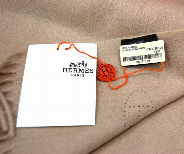 beb8f589d43d ... Hermes Écharpe en Cachemire Beige Etole Pas Cher-143. See Larger  imageSee ...