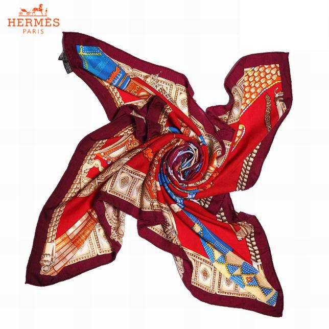 Hermes Écharpe Cachemire Rouge Foulards-149 - Hermes Écharpe ... c6916e1a4f3