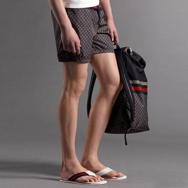 67142db09cf7 ... Pantalon Short Gucci Homme Marron-1. See Larger imageSee Larger  imageSee Larger ...