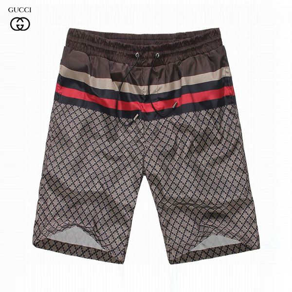 e3744762b465 Tendance Pantalon Short Gucci Homme Marron-3 - Tendance Pantalon ...