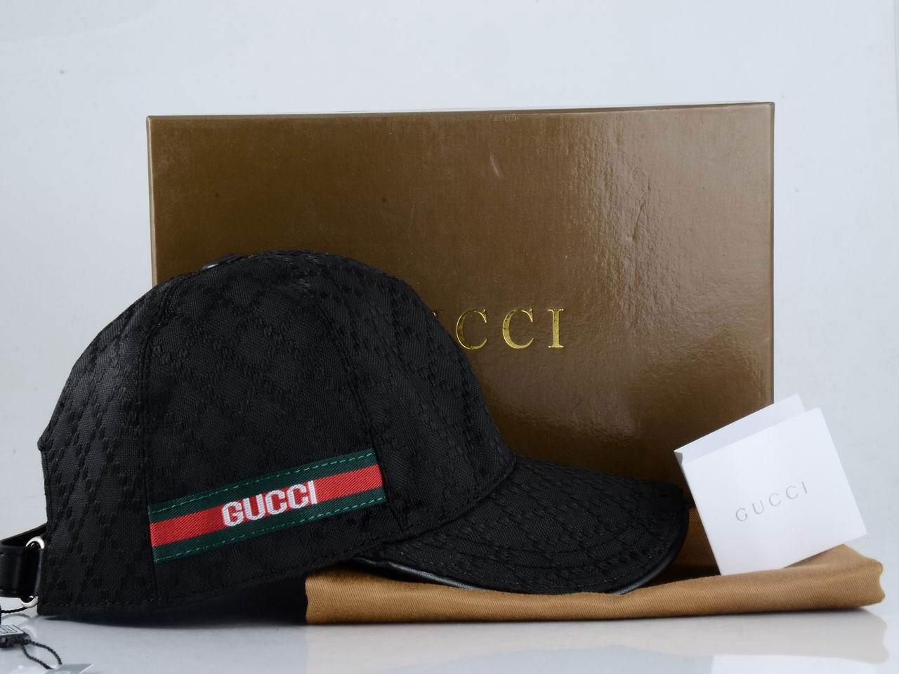 Casquette Gucci Noir-16 - Casquette Gucci Noir-16 pas cher d5d1b4a0b14
