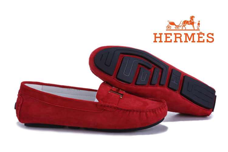 Chaussure Hermes Femme Rouge-5 - Chaussure Hermes Femme Rouge-5 pas cher cfd87bee5da